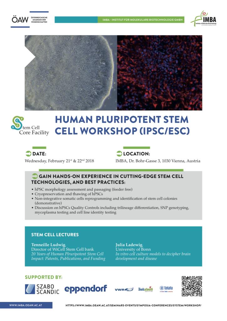 Stem Cell Workshop Vienna 2018